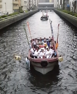 七月歌舞伎舟乗り込み1