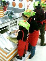 チキンラーメン作り1