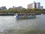大阪ダックツアー 水上観光風景