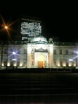日本銀行ライトアップ