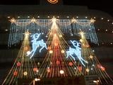 天王寺近鉄百貨店クリスマス