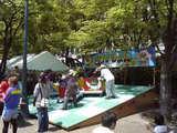 中之島まつり2008 遊具