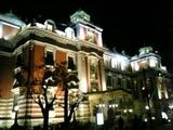 公会堂ライトアップ2