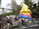 御堂筋パレード2007お祭り広場5