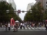 御堂筋パレード2007お祭り広場1