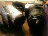 ビデオカメラ・一眼レフカメラ