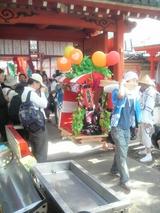 愛染祭りパレード風景6