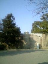 大阪城お堀の石