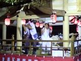 高津神社 龍おどり
