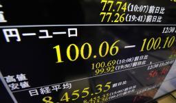 ユーロ100円