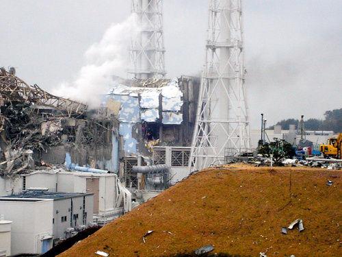 福島原発爆発