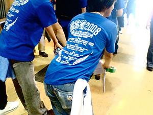 スタッフ用Tシャツ
