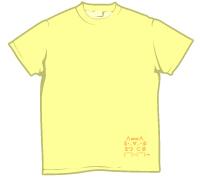 ウボァ〜Tシャツ1 プリント位置
