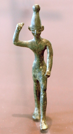 バアルの像