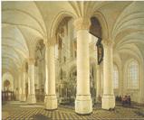デルフト新教会の回廊