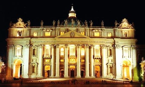 バチカン、サンピエトロ寺院