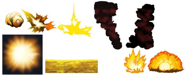 爆発パターン