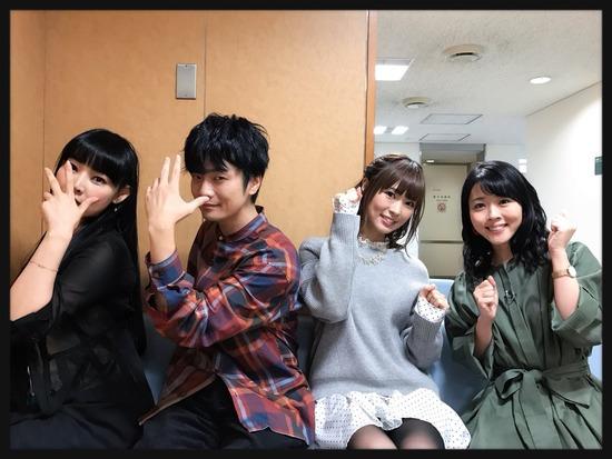 【画像】 NHK「声優ぷらす」実況感想!!4人とも可愛いwwwwwww