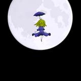 月のような物体