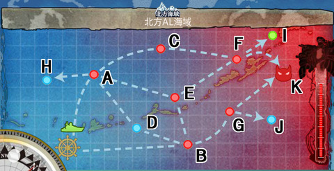 map3-5 【Extra Operation】 北方AL海域