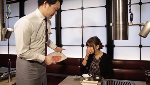 声優の立花理香さんが極上のすき焼きを堪能できる 「うしごろ 貫」 をリポート