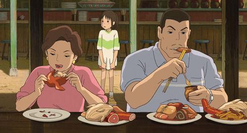 3大アニメの美味しく食べてるシーン「千と千尋の屋台」「カイジビール」