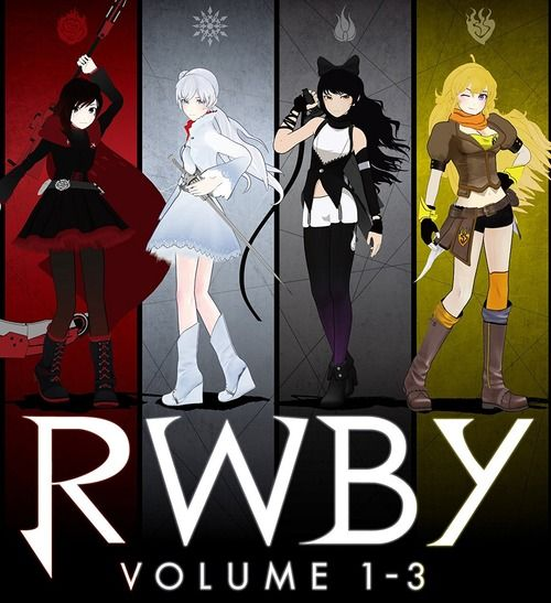 3DCGアニメ「RWBY」のBD全3巻セットが予約開始!9月27日に発売