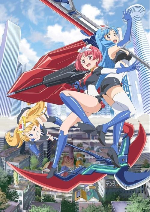アニメ「ロボットガールズNEO」のBDが予約開始!新作ぷちキャラアニメも3エピソード収録!