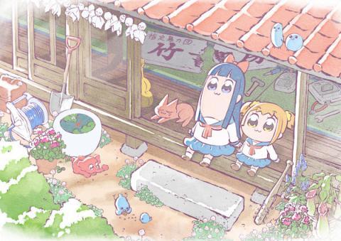 【アニメ】ポプテピピック テレビアニメがまさかの3カ月放送延期!18年1月スタート!