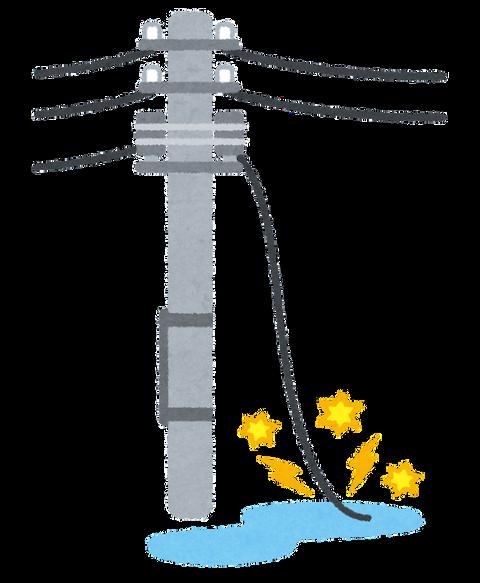 【悲報】屋根の修繕作業をしていた男性が『電線』にもたれかかっているのを通報される・大仙