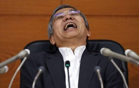 日銀砲、黒田日銀総裁初の月間の買い支え発動回数ゼロ