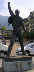 フレディ銅像