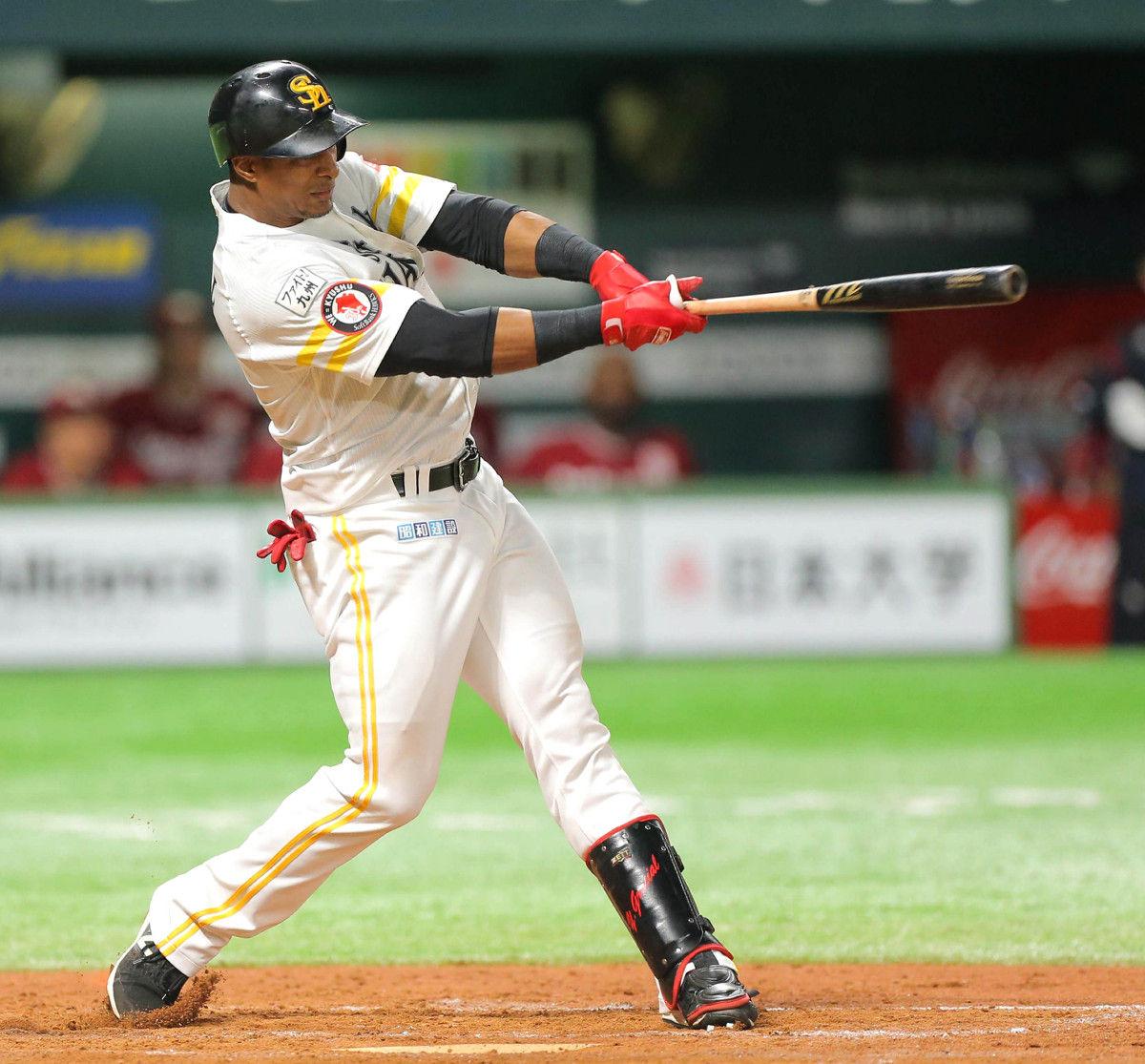 野球】ソフトバンク☆グラシアル・デスパイネの快打で逆転勝利