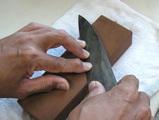 包丁の研ぎ方1