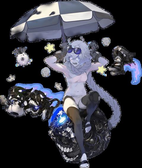 集積地棲姫II 夏季上陸mode-壊