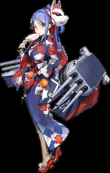 サウスダコタ改浴衣mode1