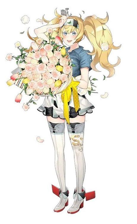 ガンビア・ベイ春の花束mode1