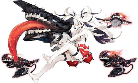 護衛棲水姫-壊