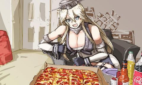 アイオワとピザ
