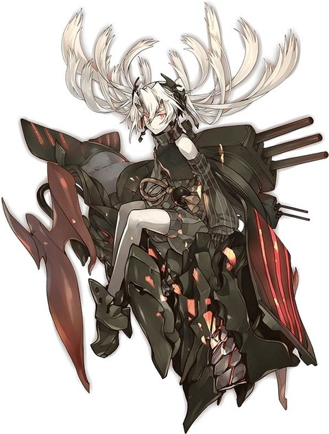 深海鶴棲姫-壊