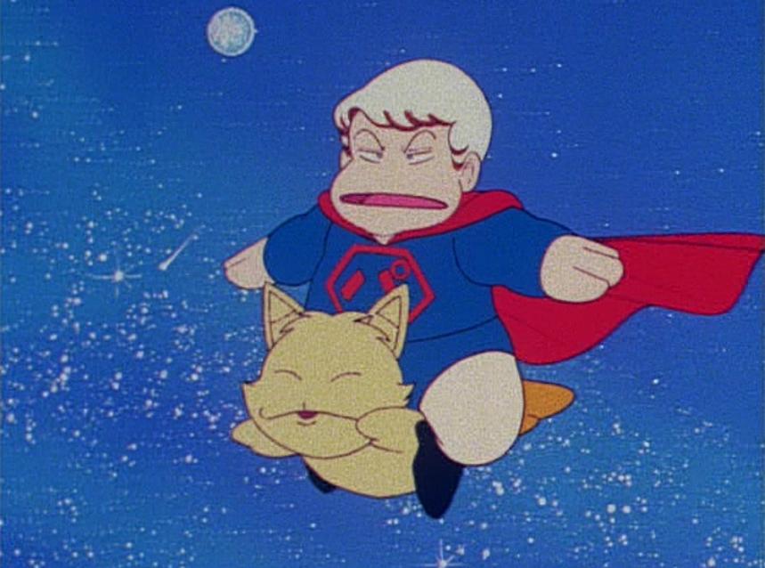 スーパーマン風のパタリロ