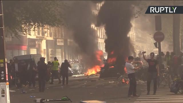 【速報】フランス 内戦状態