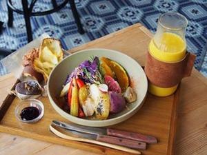 大阪のオーガニックカフェは体に良い素材で彩りもインスタ映えも