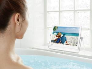 お風呂で優雅にテレビやyoutubeが見れるビエラ