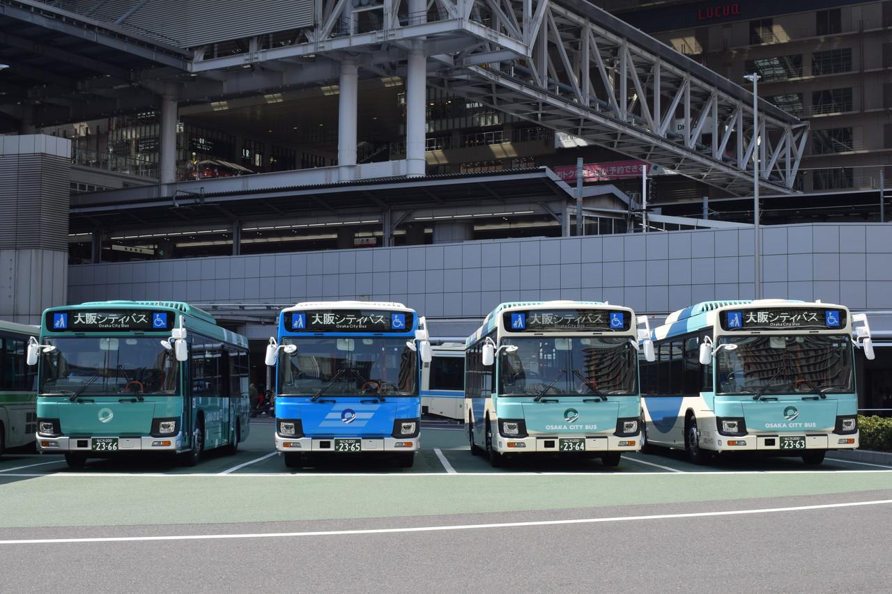 大阪シティバス】7年ぶりの新車...