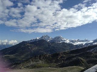 ハイキング風景