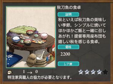 秋刀魚の食卓