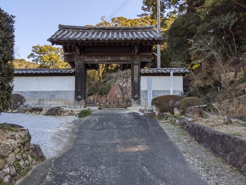 摩訶耶寺高麗門 (1)