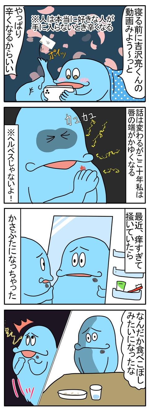 表こころブログ_吉沢亮の悩みどころ1