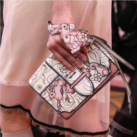 Prada-WhitePink-Ribbon-Printed-Cahier-Bag-Resort-2018